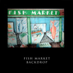 Fish Market Backdrop