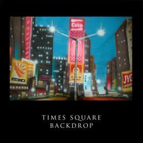 Times Square Backdrop