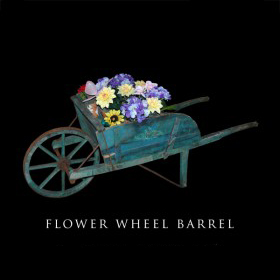 Flower Wheel Barrow