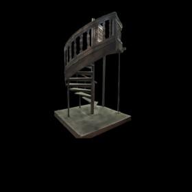 Ship Spiral Staircase