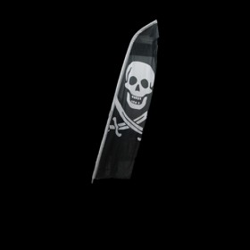 Standing Pirate Flag