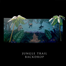 Jungle Trail Backdrop