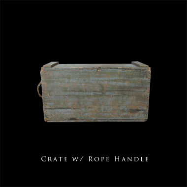 Crate with Rope