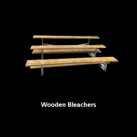 Wood Bleachers