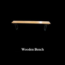 Wooden Sports Bench