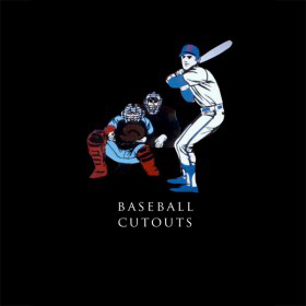 Baseball Cutouts