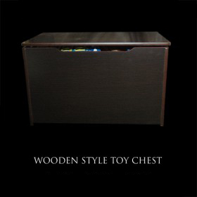 Wooden Style Toy Chest