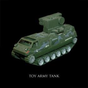 Toy Army Tank