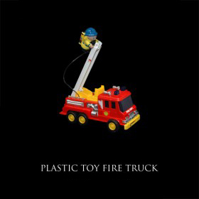 Plastic Toy Fire Truck