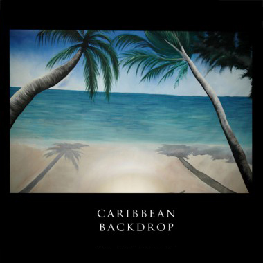 Caribbean Backdrop