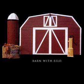 Western Barn with Silo