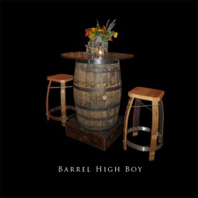 Barrel High Boy