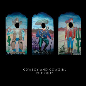 Cowboy and Cowgirl Cutouts
