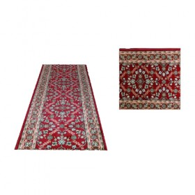 Red & White Oriental Runner