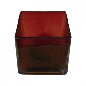 Red Glass Square