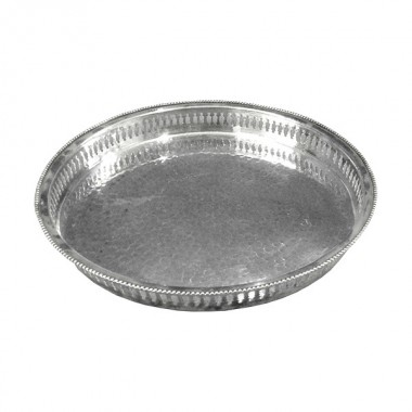 Round Metal Serving Tray