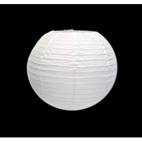 Round White Chinese Paper Lantern