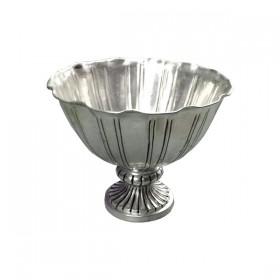 Short Silver Urn