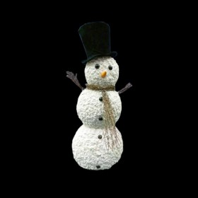 Traditional Winter Snowman