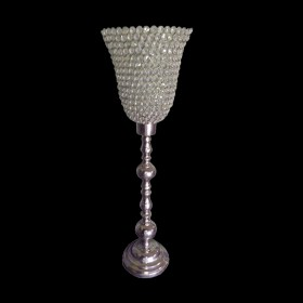 Wide Mouth Bling Candle Holder