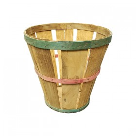 Colored Wooden Basket